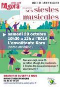 Saint-Vallier : L'Agora propose « Les siestes Musicales »