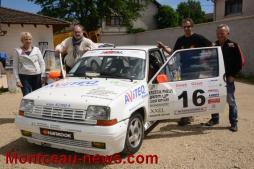 Nouveaux sponsors pour Eric Frizot (Rallye)
