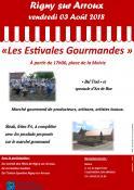 les «Estivales Gourmandes» de Rigny sur Arroux