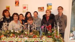 Une Jacinthe et des paillettes plein les yeux pour un Noël ROSE BONBON