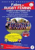 Le 8 septembre au Creusot : « faites du rugby féminin »