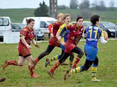 Rugby féminin (Montceau) : Tigresses et Geny'ZZ réunies s'imposent en tournoi