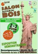 """6éme salon """"Autour du bois"""" à Montchanin (Sortir)"""