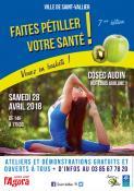 7ème édition de « Faîtes pétiller votre santé » de  Saint-Vallier