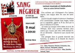 Lecture musicale et théâtralisée de  La Mère en Gueule (Montceau)