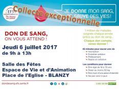 L'Établissement français du sang lanceun appel urgent à la mobilisation :donnez votre sang, les réserves sontfaibles