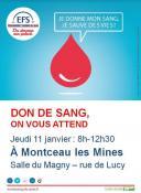 Amicale du don du sang de Montceau