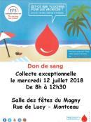 Amicale du don du sang ( Montceau)