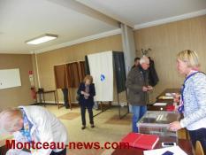 Elections présidentielles Sanvignes Total des bureaux à midi
