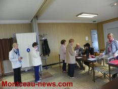 Second tour de l'élection présidentielle 2017 (Sanvignes)