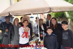 Fête des voisins Sanvignes: pluie, soleil et amitié