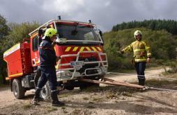 Formation «tout terrain» pour les sapeurs pompiers de Saône-et-Loire