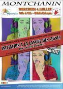 Initiation à la langue des signes (Montchanin)