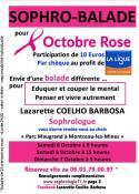 Octobre Rose :  « Sophro-Balade » à Montceau