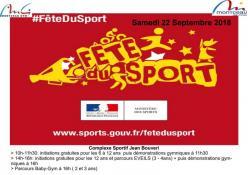 Fête du sport à Montceau