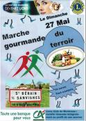 Marche Gourmande, le dimanche 27 mai 2018 à Saint-Berain-sous-Sanvignes