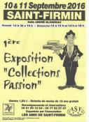 "1ère exposition ""Collections Passion"" (Saint-Firmin)"