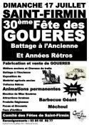 30ème fête des Gouères (Saint-Firmin)