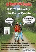 34ème marche du pain perdu à Saint Romain Sous Gourdon