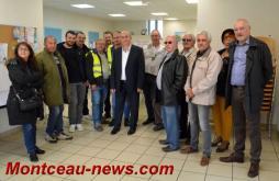 Saint-Vallier: Réception des Forains