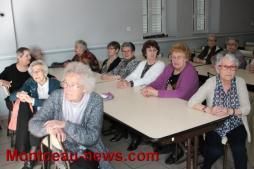 A l'occasion de la fête des grands-mères à Saint-Vallier