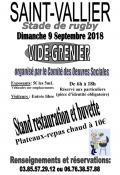 Vide grenier à Saint-Vallier