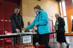 Election présidentielle, second tour, à Saint-Vallier