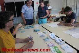 Premier tour des législatives, 5e circonscription à Saint-Vallier