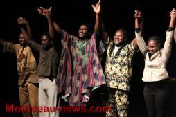 Candide l'africain par la compagnie Marbayassa à Saint-Vallier