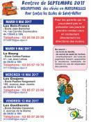 Rentrée scolaire 2017 à Saint-Vallier
