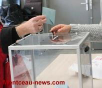 Elections présidentielles (carte électorale) à Saint-Vallier