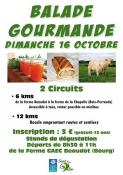Dimanche 16 octobre, dès 8h30, balade gourmande (Saint-Vallier)