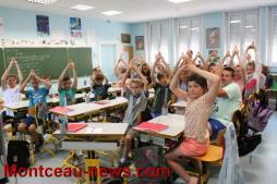 L'olympisme dans les écoles primaires à Saint-Vallier avec le CDOS