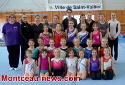 Saint-Vallier: le CSL Gym reçoit