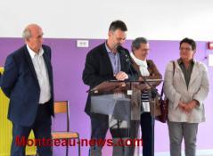 Réception de rentrée des enseignants à  Saint-Vallier