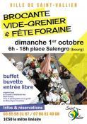 Brocante, vide-grenier et fête foraine à Saint-Vallier