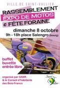 Rassemblement, expo de motos et fête foraine à Saint-Vallier