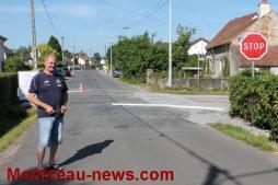 Modification de priorité à trois carrefours de la rue Philippon à Saint-Vallier