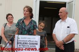 Solidarité – Les ateliers cuisine au sein de l'épicerie sociale à Saint-Vallier
