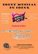 Vendredi 31 mars 2017, 20h, à l'ECLA à Saint-Vallier