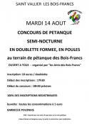 Les amis des Bois-Francs ( Saint-Vallier)