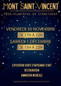 4ème Fête « Lumières et Créations » (Mont-Saint-Vincent)