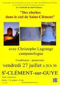 """Dans le cadre des """"Vendredis de Saint-Clément"""" (Sortir)"""