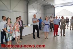 Inauguration des nouveaux locaux de Symbiose Technologies