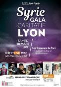 Soirée caritative Syria Charity à Lyon