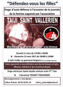 Stage gratuit organisée par Taiji Saint Vallérien