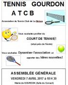 Tennis club de la Beluze (Gourdon)