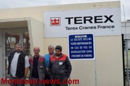 Terex Cranes France à Saint-Vallier…
