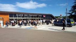Parkings de la gare TGV Creusot Montceau