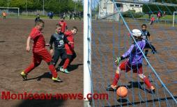 Football - Samedi 10 juin 2017, stade des Alouettes à Montceau-les-Mines